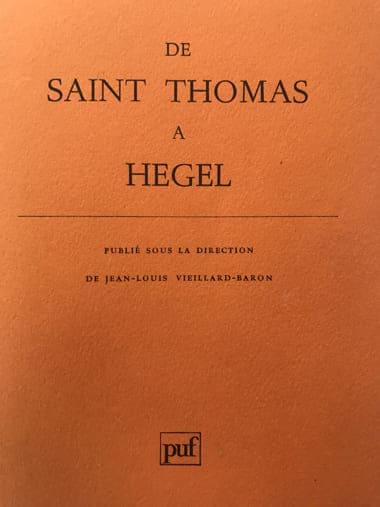 Hegel, critique de Kant: l'être de la volonté dans le droit